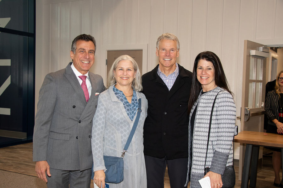 Monica & Doug Kridler and Joy & Bruce Soll at the 2018 Prove the Possible.