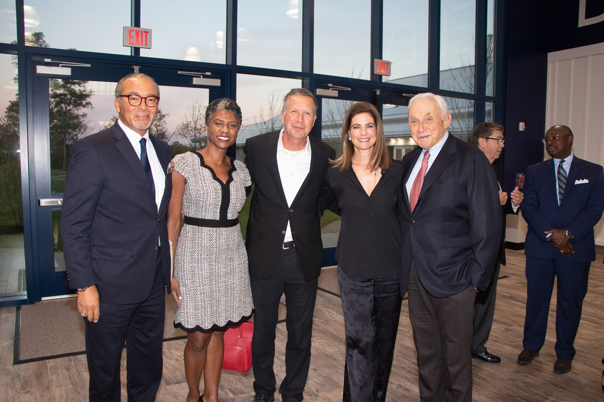 Governor Kasich, Janelle and Michael Coleman, Abigail S. and Leslie Wexner