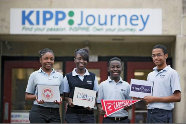 KIPP Through College Students